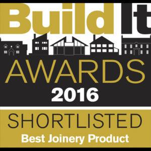Build It Awards 2016 Shortlisted