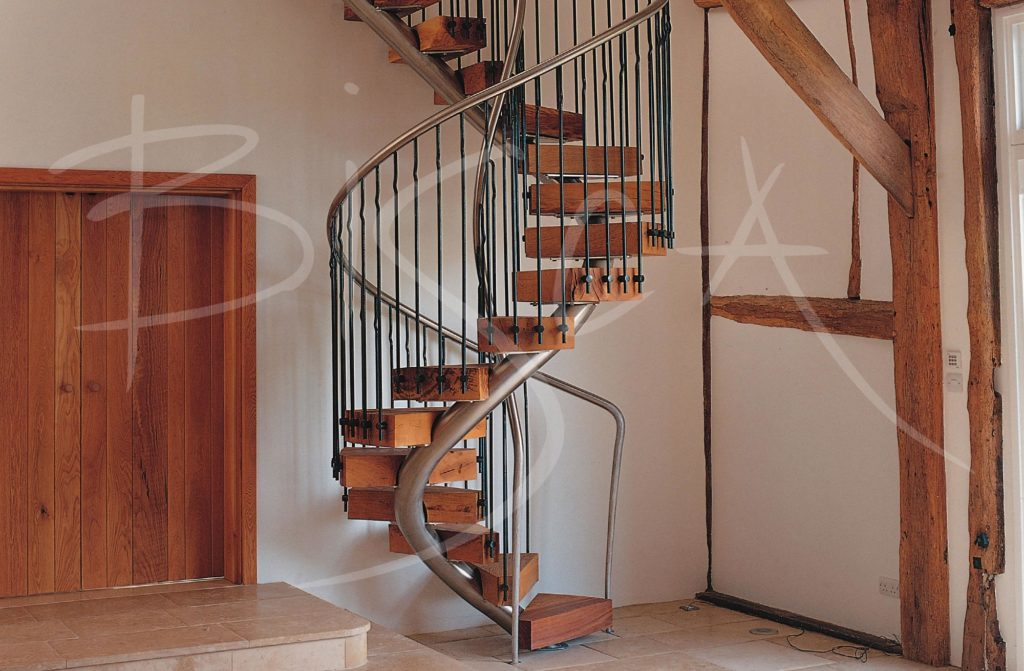 1209 - Bisca bespoke spiral stair alternative