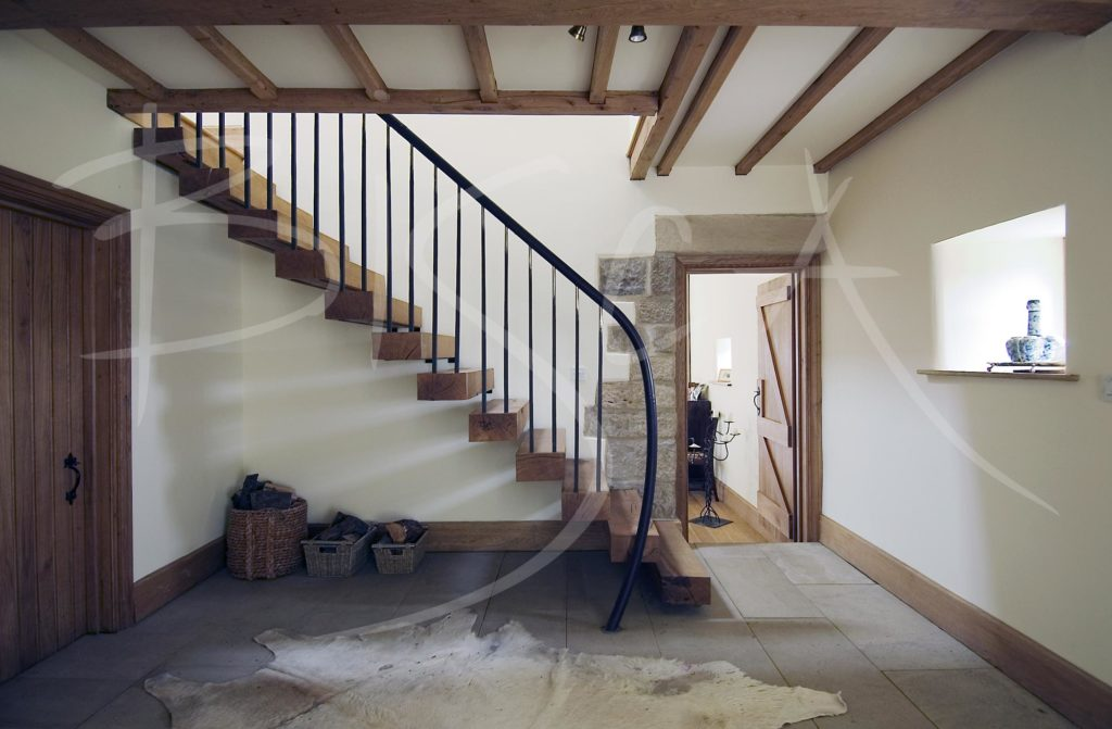 1801 - Bisca bespoke barn staircase design