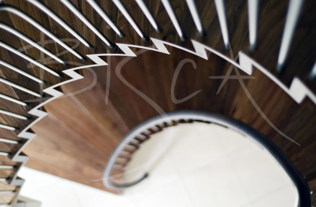 1871 - Bisca feature helical staircases