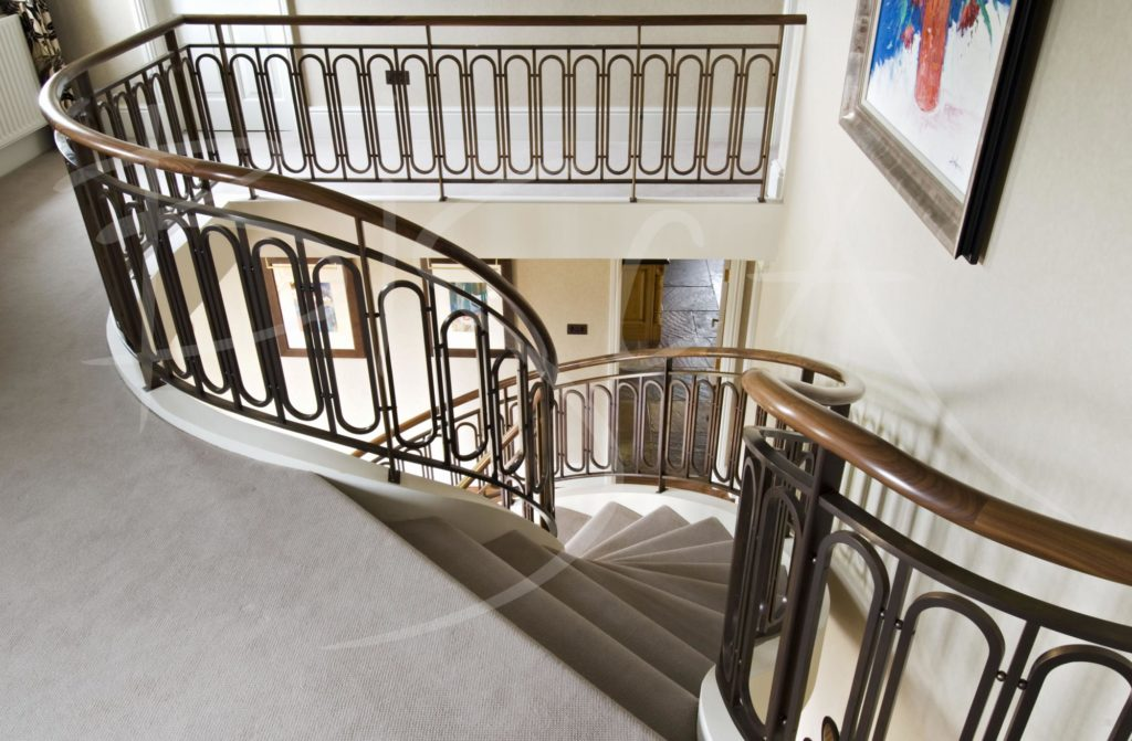 1982 - Bisca bronze balustrade design leeds