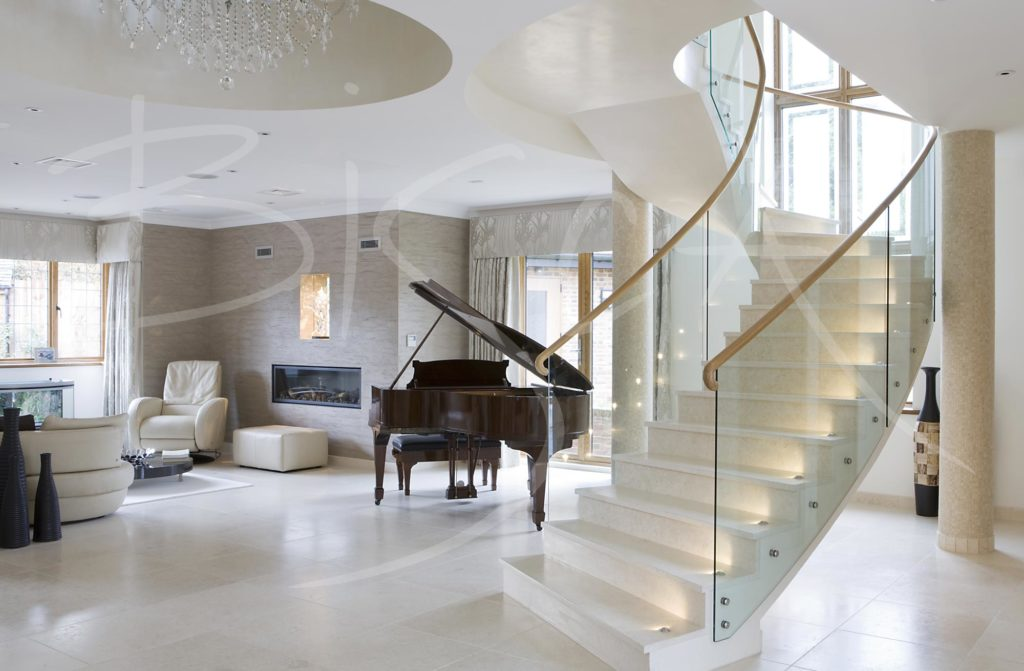 2169 - Bisca curved staircase design