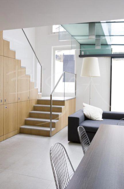2314 - Bisca Contemporary Staircase Design