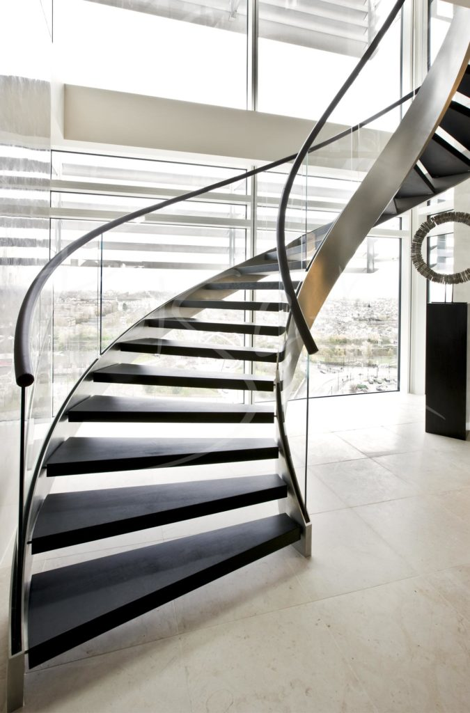 2390 - Bisca Bespoke Contemporary Staircase Design