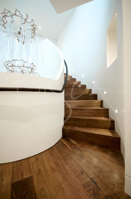 3089 - Bisca Bespoke Helical Stairs London