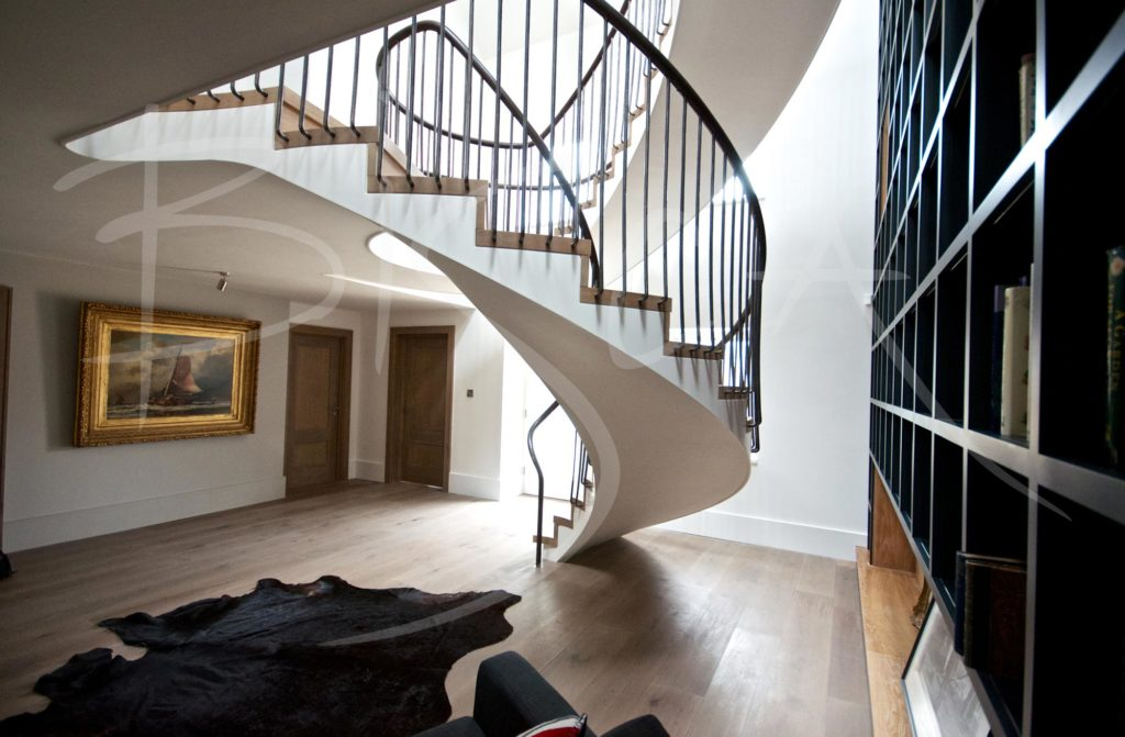 3196 - Bisca helical stair design Yorkshire
