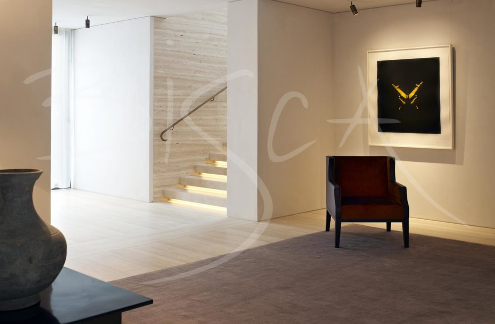 3329 - Bisca bronze handrail design london