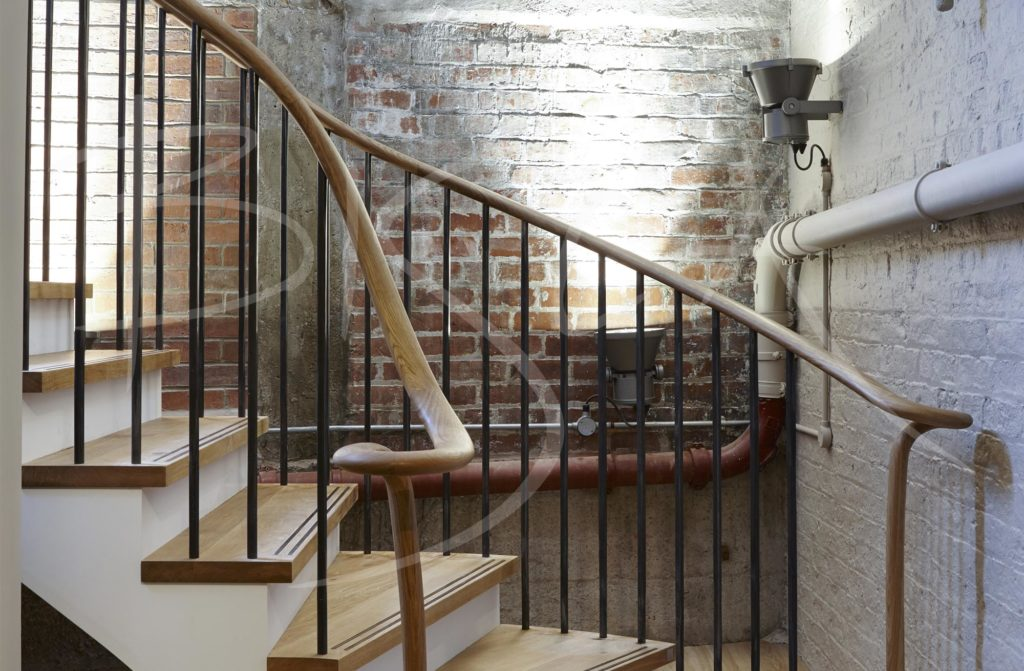 4339 - Bisca Industrial Style Staircase Design York