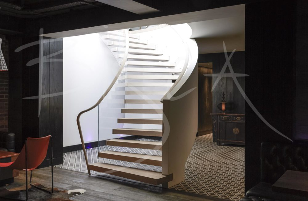 4389 - Bisca Basement helical Staircase York