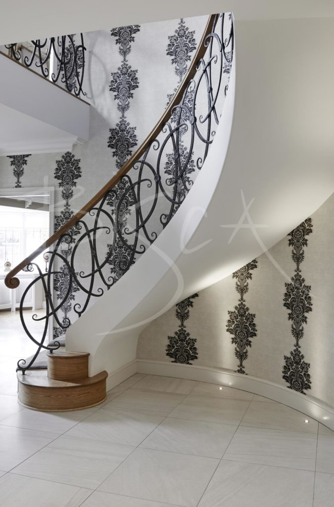 4472 Bisca Wrought Iron Balustrade Cheshire