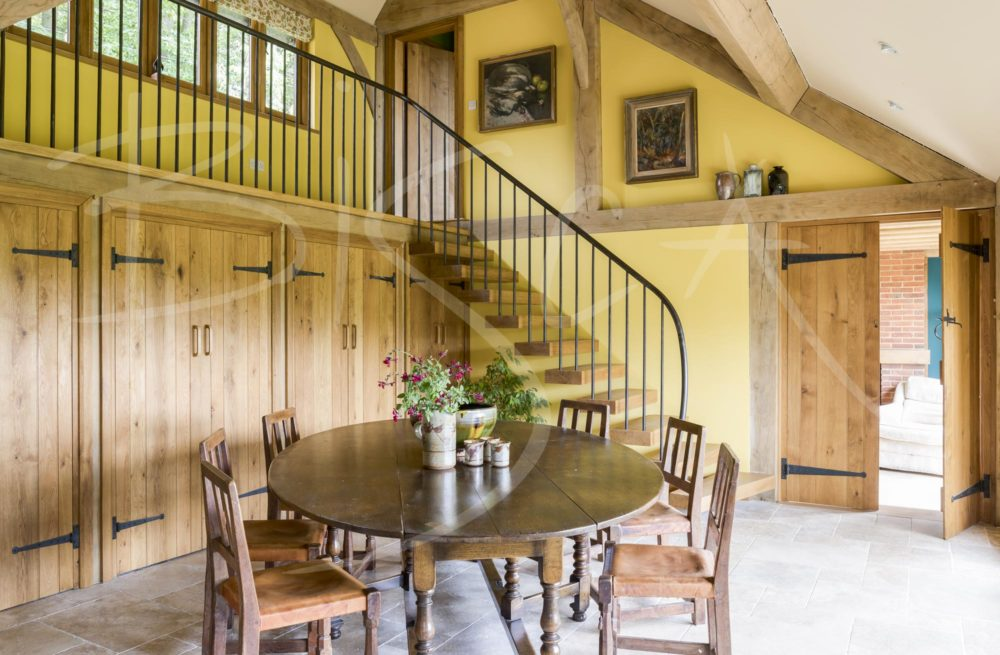 4502 - Bisca Stair Design Timber Framed Property