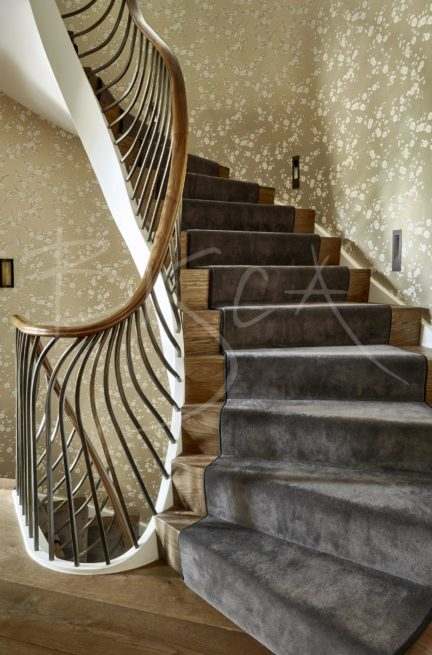 4603 - Bisca Art Nouveau Inspired Staircase Design