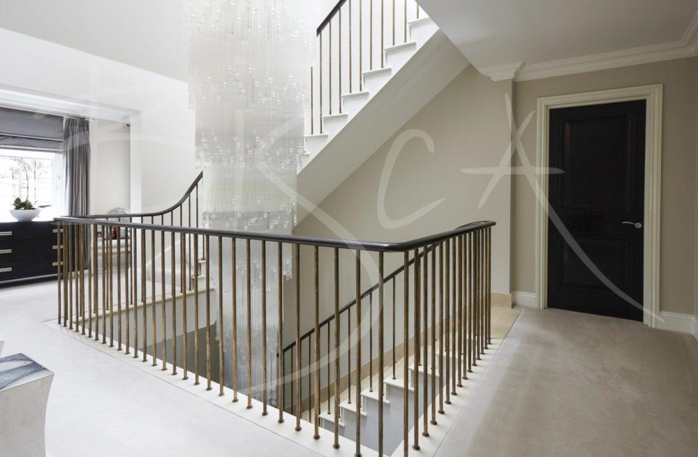 4875 Bronze Balustrades - North London