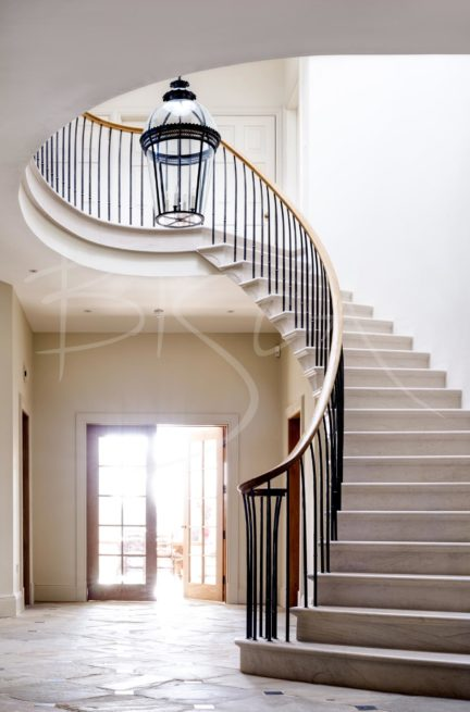 Stone Cantilever Country House Stair - York