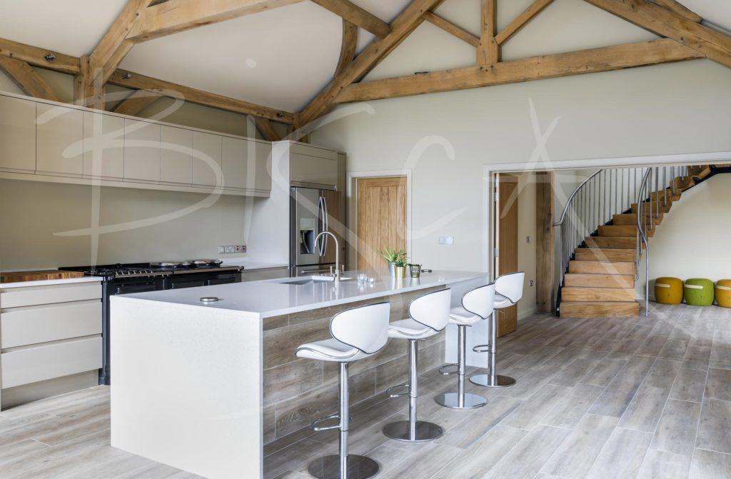 5029 - Bisca Rustic Oak Staircase Design Yorkshire