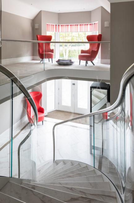 modern stone staircase design