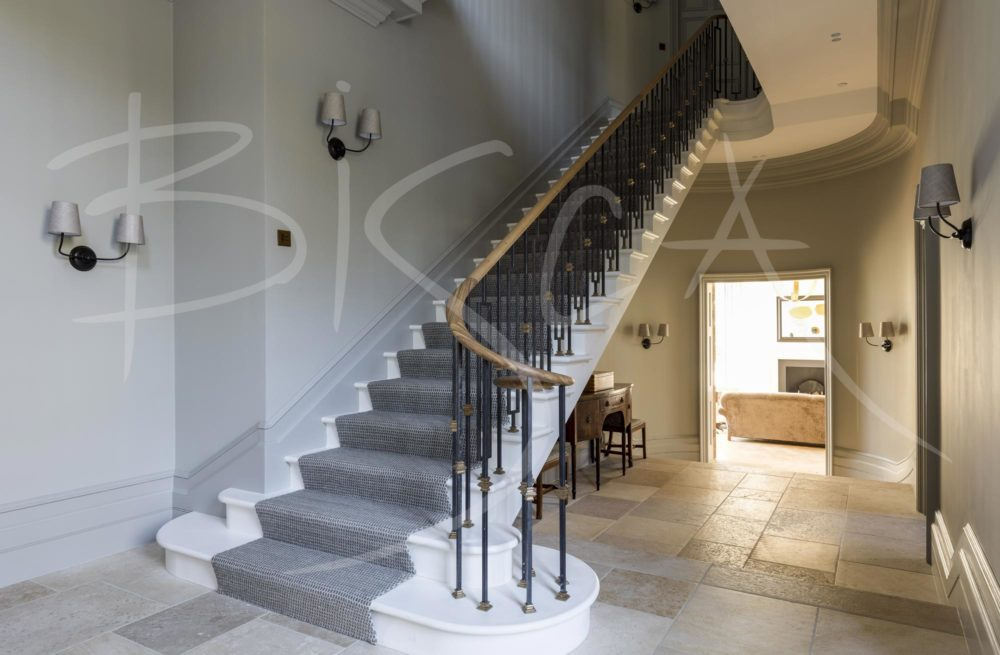 5436 - Bisca Classic Georgian Staircase design