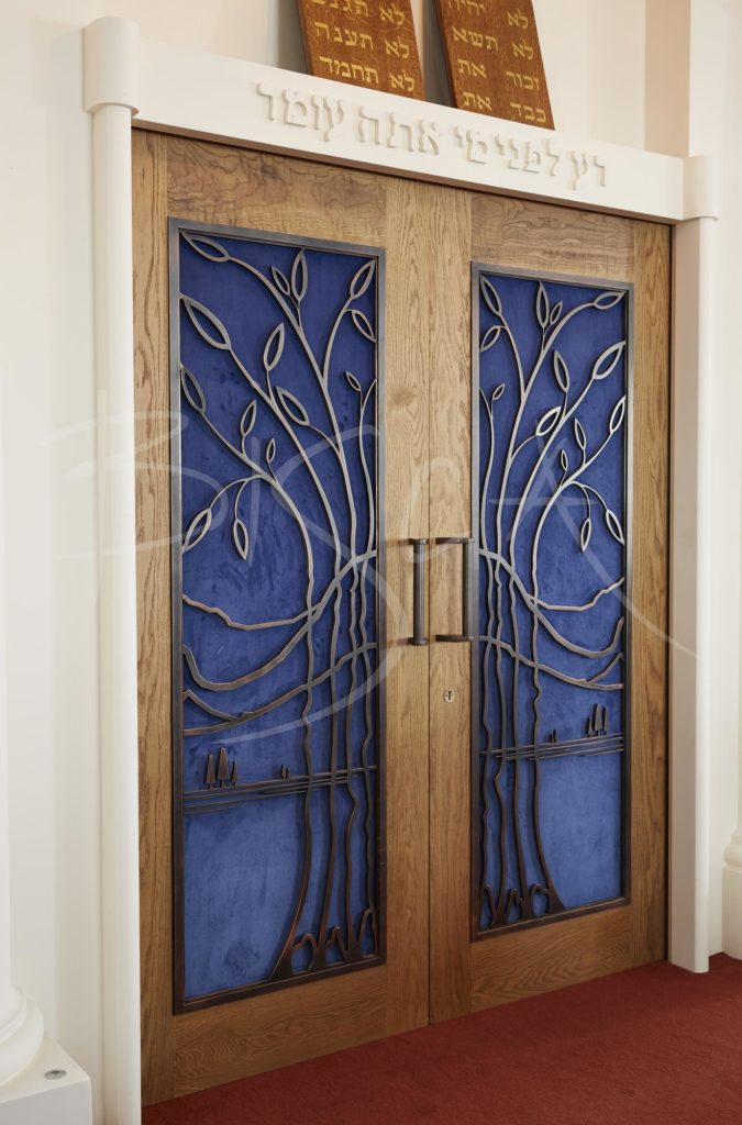 5450 - Bisca Bisca Highgate Synagogue bronze screens