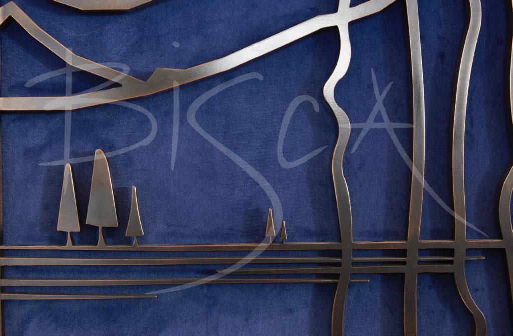 5450 - Bisca Highgate Synagogue bronze screens