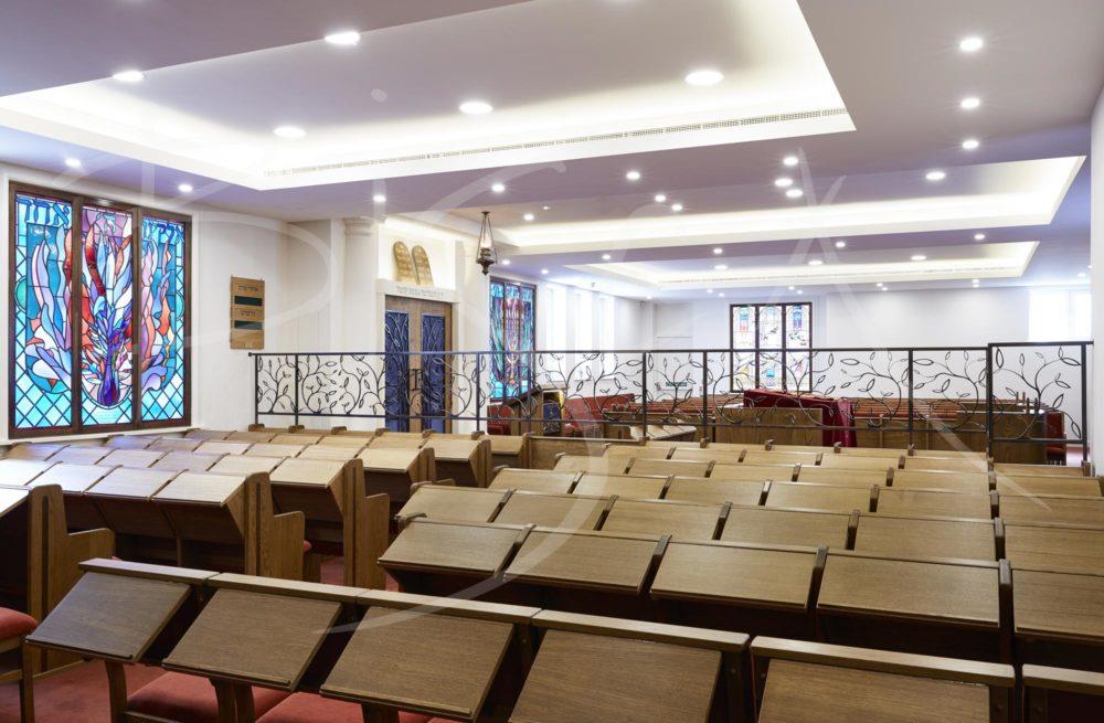 5450 - Bisca Bisca Highgate Synagogue bronze screens