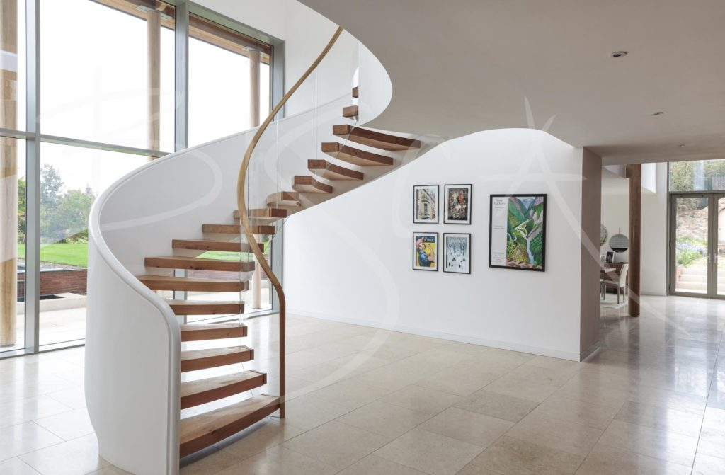 5632 - Bisca Helical Stair Design