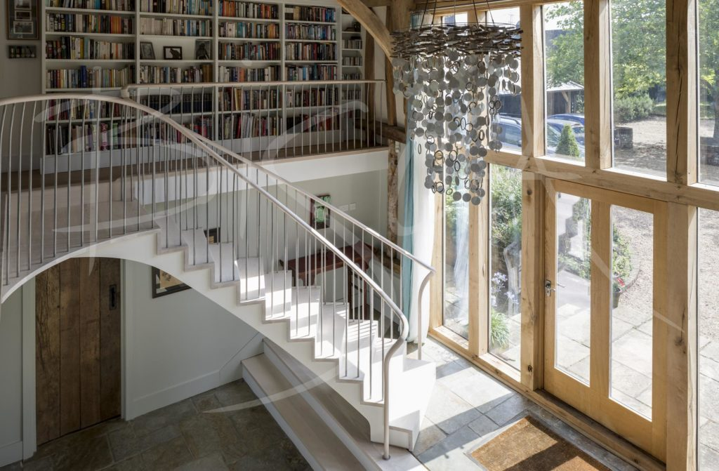 6135 - Bisca bespoke curved stair design
