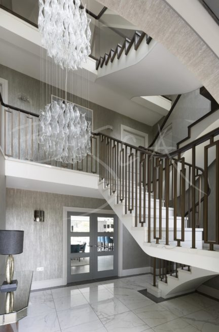 6406 - Bisca Tiled Staircase Design Manchester