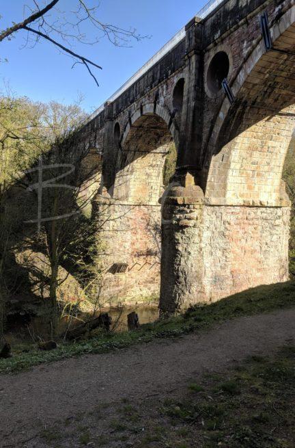 6486 - Bisca 6486 - Bisca Parapet Railing on Marple Aqueduct