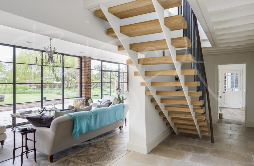 6836 - Bisca Reclaimed Oak Stairs | Staircase Image Gallery