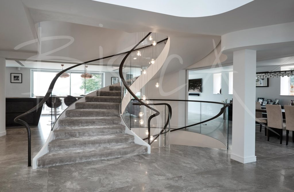 helical stairs design yorkshire