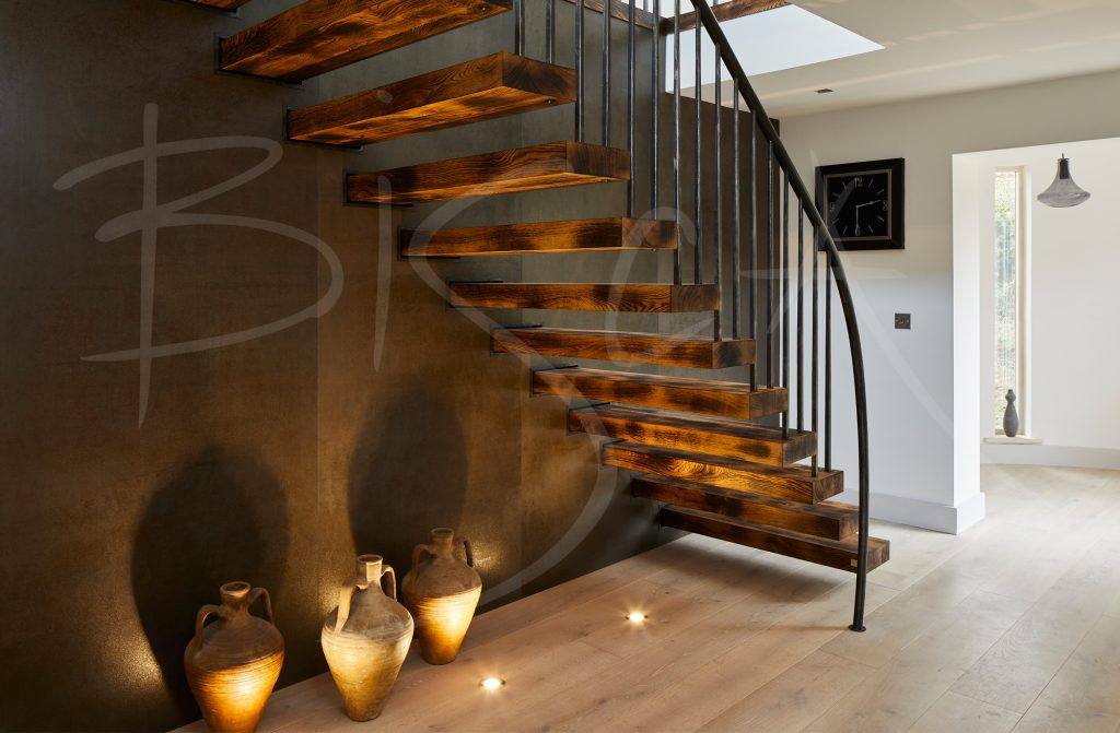 character oak staircase