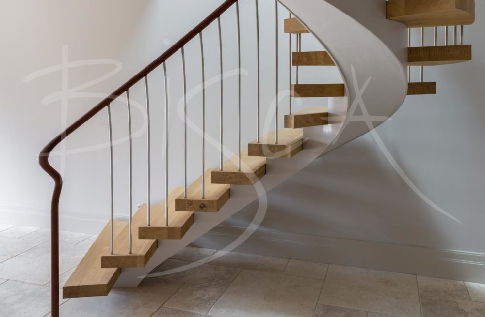 feature helical staircase