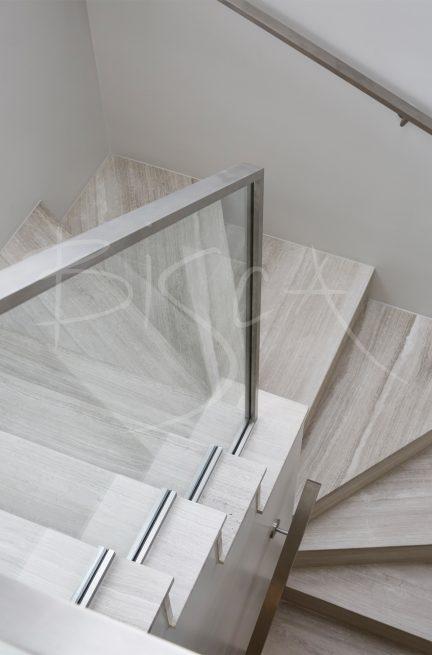 bespoke profile steel handrail