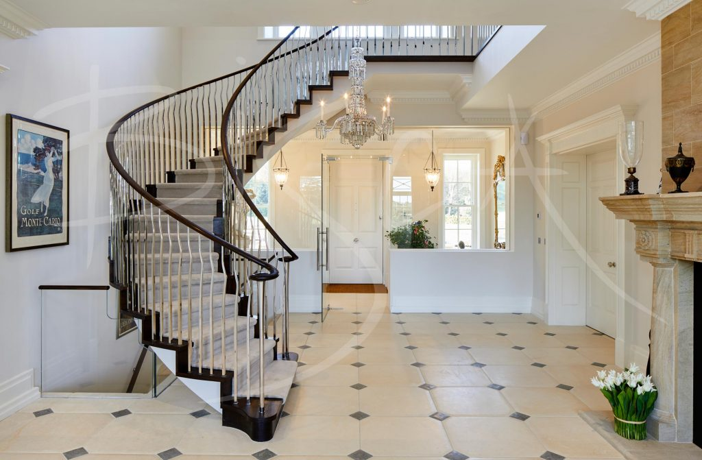 Country House stairs design by Bisca