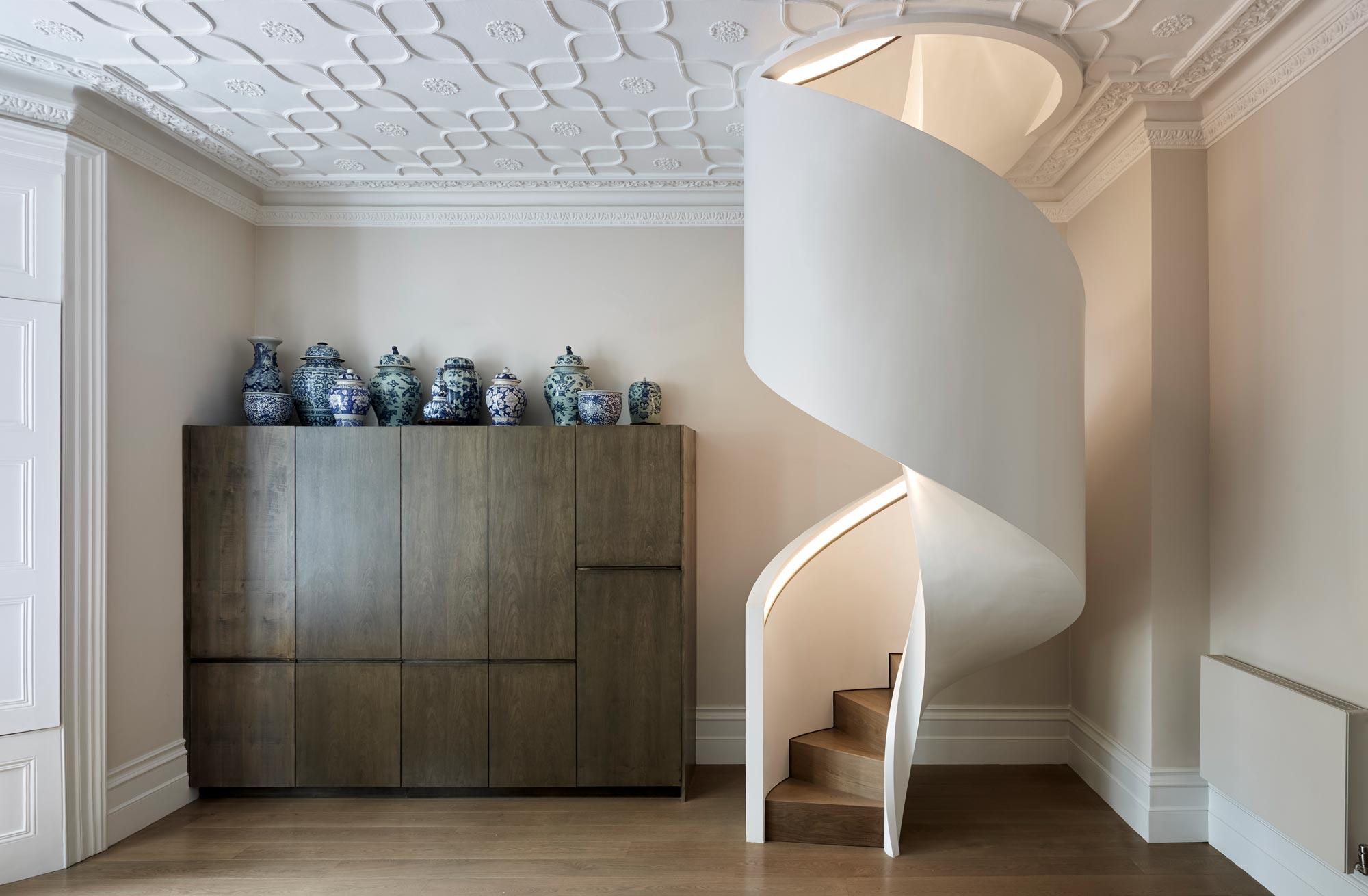 New stairs in a London Mews Property