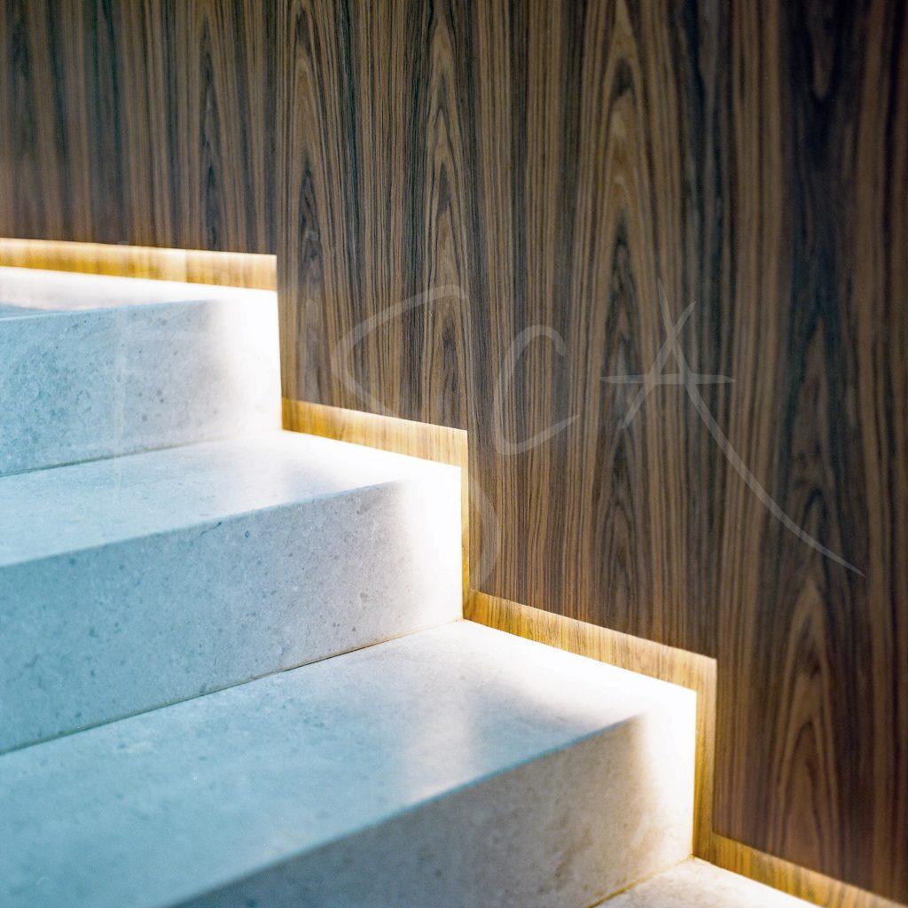 bisca veneer staircase veneered stairs
