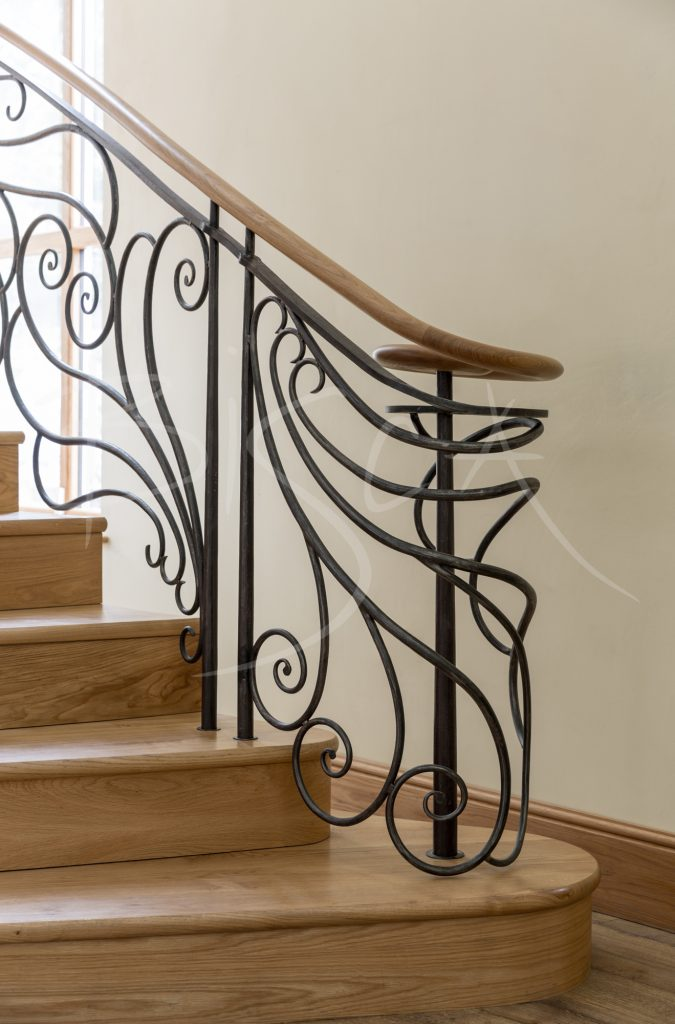 art nouveau staircase newcastle by bisca